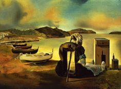 "Salvador Dalí (1904-1989), ""Weaning of Furniture Nutrition"" - The Dalí Museum ~ St. Petersburg, Florida, USA"