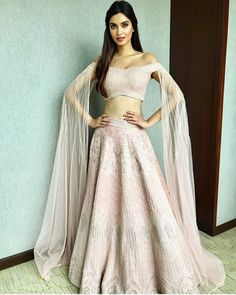 Diana Penty in Indian attire. Indian Gowns Dresses, Indian Fashion Dresses, Indian Designer Outfits, Designer Dresses, Pakistani Dresses, Kaftan, Diana Penty, Lehnga Dress, Indian Bridal Outfits