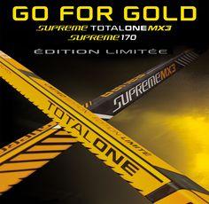 Go for GOLD ! Nouvelles crosses Bauer Supreme MX3 et 170 en Edition Limitée ! #bauerfrance #bauerhockey #bauer