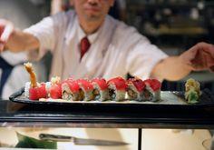 snow crab sushi. yoshis sf.