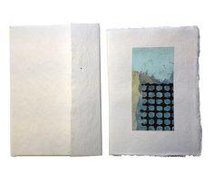 Lot de 5 oeuvres originales montées sur un papier par PrettyMatter