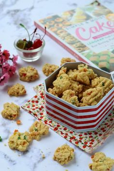 Cokies Recipes, Indonesian Food, Indonesian Recipes, Kitchen Recipes, Cake Cookies, Asian Recipes, Biscuits, Food Photography, Cereal