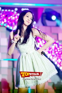 A Pink Na Eun's cute hand gesture…JTBC Special Environmental water supply with Suwon Concert [KPOP]