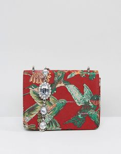 Asos Jewelled Strap Hummingbird Cross Body Bag  #hummingbird #handbag #affiliate