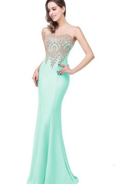 New MisShow Women Lace Applique Sheer Neck Long Mermaid Prom Evening Gowns Formal online shopping – Thelooknewstyle – Women's Fashion Satin Formal Dress, Chiffon Dress Long, Chiffon Evening Dresses, Evening Gowns, Satin Gown, Formal Gowns, Long Mermaid Dress, Mermaid Prom Dresses, Prom Party Dresses