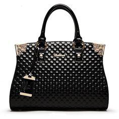 Patent Leather Luxury Bag