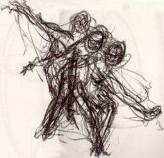 line gesture drawing