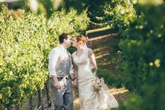 The vines at Toms Cap Winery in Gippsland make a beautiful setting. Image by Dave (Danae Photography)
