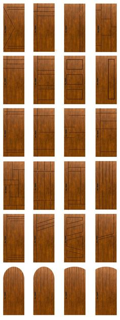Main door design modern woods Ideas for 2019 Modern Wooden Doors, Wooden Main Door Design, Front Door Design, Wood Doors, Main Entrance Door Design, Bedroom Door Design, Door Design Interior, Interior Barn Doors, Design Interiors