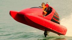 Wokart: The 70 km/h go-kart for the water