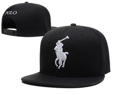 Polo Snapback Hats Black|only US$6.00 - follow me to pick up couopons.