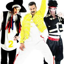 1980s Celebrity Mens Fancy Dress 80s Famous Music Pop Rock Star Adults Costume  sc 1 st  Pinterest : famous 80s couples costumes  - Germanpascual.Com