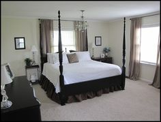 Before and After pictures of my master bedroom. - Beneath My Heart