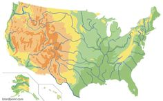 Test your geography knowledge: USA: geophysical regions quiz Map Quiz, Geography Quiz, Knowledge, Diagram, Usa, World, The World, Earth, Facts