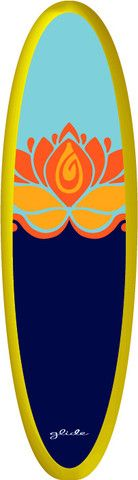 Glide Yoga Paddleboard and SUP board. This is the exact one I want!