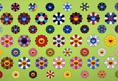 Takashi Murakami: inspirational patterns