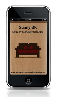 Sales & Order Manager App  Enterprise iPhone app to manage new customers and order from start to end.