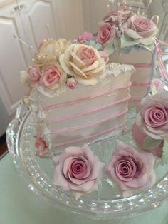 Romantic Fake Cake