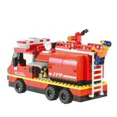 Sluban Fire Engine 281Pcs-TB0220 - For Boys-2013 Xmas Gift Guide - TopBuy.com.au