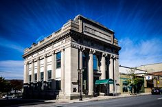 Cool looking Bank in the town of Pittston PA