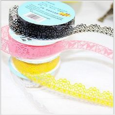 Cheap tape leggings, Buy Quality tape tape dispenser directly from China tape brother Suppliers: 	  	  	Product Name:  Lace Decoration Masking Tape	Material: PVC	Size: 1.8cm x 100cm	Package: 1PC	&n