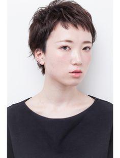 アパカバール Apa Kabar 北花田店 『大人可愛い黒髪ベリーショート』☆