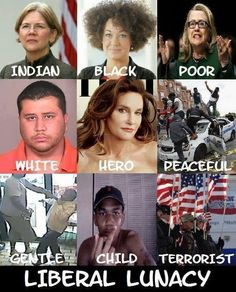 """Wow! Food For Thought! Seriously look at each photo and you decide who is on the """"RIGHT"""" side of America!"""