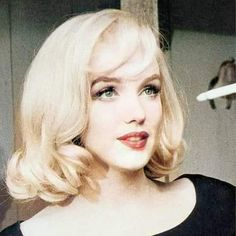 Marylin Monroe, Marilyn Monroe Photos, Marilyn Monroe Hairstyles, Marilyn Monroe Haircut, Short Blonde, Blonde Hair, Bombshell Hair, Hollywood Icons, Norma Jeane