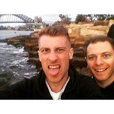 Standard Sydney Harbour Bridge selfie  #Sydney #SydneyHarbourBridge #Selfie #Australia #Backpacking #Travelling #Travel #HarbourBridge by alex.jordan92 http://ift.tt/1NRMbNv