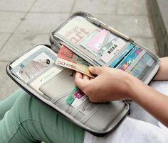 Multifunctional Ticket/Passport Holder