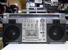 SANYO  MR-X920  Vintage boombox.....................Please save this pin.   .............................. Because for vintage collectibles - Click on the following link!.. http://www.ebay.com/usr/prestige_online
