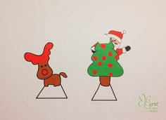 Elegraf Grafica Freelance: Quadro natalizio in 3D fai da te
