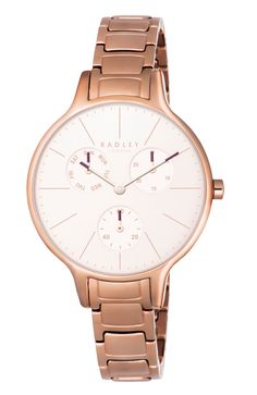 cool Radley RY4262 ladies bracelet watch, Rose Gold just added...  Check it out at: https://buyswisswatch.co.uk/product/radley-ry4262-ladies-bracelet-watch-rose-gold/