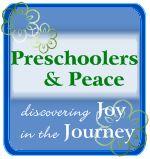 Preschoolers & Peace- homeschooling family blog