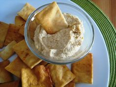 Homemade hummus really is easy to make.