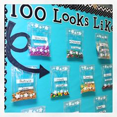 100th Day of School Ideas for kindergarten and first grade. Lots of freebies and a copy of a letter to parents for special snack