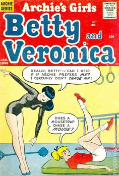Image Detail for - Archies Girls Betty and Veronica (1951) comic books 1959