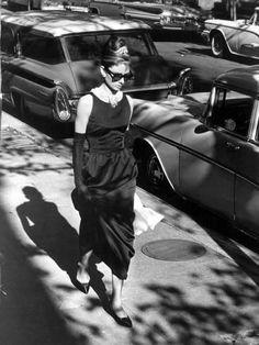 Metal Print: Audrey Hepburn : 16x12in