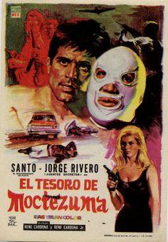 Programa PUBLICITARIO de CINE: El Tesoro de Moctezuma.