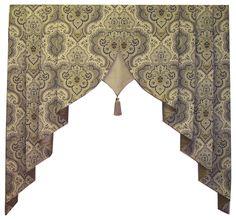 Arcadia Valance - traditional - window treatments - dc metro - Fashion Window Treatments
