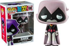 Pop! Television - Teen Titans Go! - Raven [Grey/Pink]