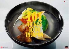 観光庁と民間企業がタイアップしてつくった海外向け冊子「101 things to do in Japan」。日本の文化や食、街並み、風景など、さまざまなジャンルから「日本でしかできないこと」が美しい写真とともに紹介されています。日本人でも「知らなかった!」と驚く、魅力ある情報が満載です。