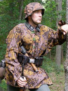 Waffen SS Type I M38/M40 Oakleaf B Smock