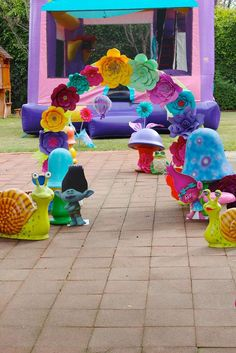 Trolls Birthday Party Ideas | Photo 12 of 30