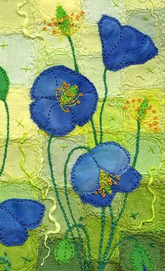 Quilted Poppies