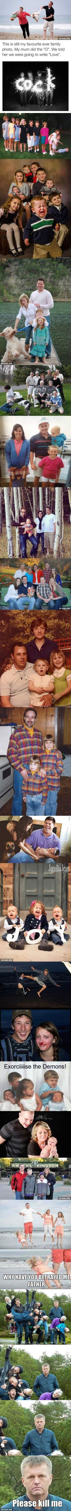19 Family Photos Gone Wrong... Very Wrong <-- THIS IS SO HILARIOUS!!
