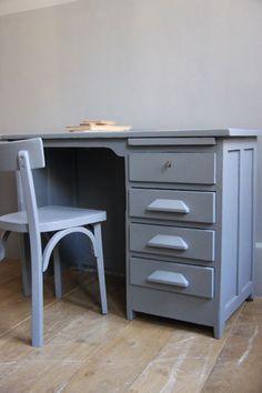 petite belette: meubles vintage revisités.  Bureau de comptable