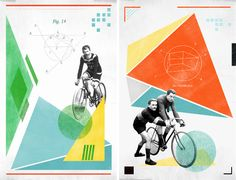 Bicycle prints by Reconstructing Ideas #NationalBikeMonth