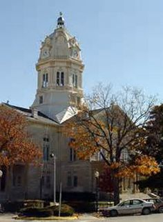 Winterset Iowa, Madison County   Courthouse