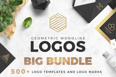 Get the Extended License for the same price of the standard! A superb and professional collection of 235 Minimal Logo Templates and 320 Geometric Logo Marks created for beginner and expert Designers. It allows you to design a brand new logo in 3 minute using Photoshop or Illustrator. Mix the premade logos with your favourite logo mark to get